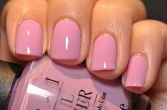 Sara's nails will be done in OPI's pale pink color called Lucky Lavender and they will match the peonies in her bouquet and her lips.