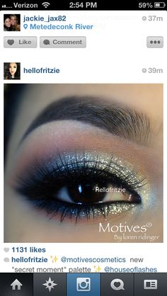 Gorgeous eye makeup motives cosmetics