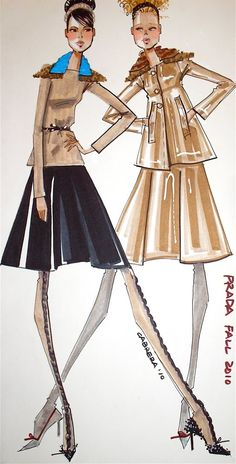 Fashion Illustrator : Mamie N Baby (Blog)