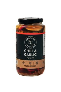 Chili & Garlic Pickles - Bravado Spice Co.