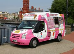 Van Signwriting, Ice Cream Car, Street Food Business, Sea Murals, Mobile Catering, Commercial Van, Food Truck Design, Van Design, Small Trucks