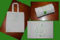 roll up shopping bag to make from the Calico bag co-op