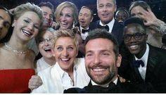 The celebrity selfie that broke Twitter. #Oscars