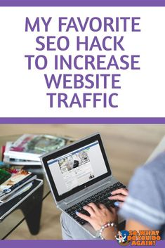 Have you tried all those traffic hacks out there, but you found that you're getting very little traffic or results? Today I'll teach you one simple hack that'll increase your website traffic fast. And I bet less than of you are using this tactic. Seo Marketing, Online Marketing, Digital Marketing, Marketing Strategies, Affiliate Marketing, Seo For Beginners, Seo Tips, Make Money Blogging, Earn Money
