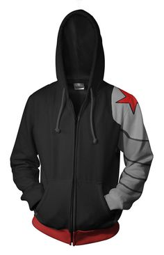 Winter Soldier hoodie // I CANT. AHHHHHHHH