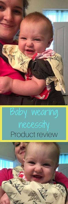 Baby preferred, teething bib and pad, teething, bib for carrier, baby wearing