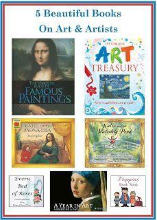 5 Books on Art and Artists #popinsbooknook #artist #books
