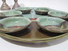 Passover Plate Pesach Plate Serving Tray and Dishes by ClayismyArt