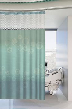Architex Rx 1008 In Use Privacy Curtains Cubicle