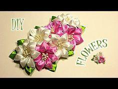 ❤Очень ценю Ваши ЛАЙКИ и КОММЕНТАРИИ!!! ❤СПАСИБО❤ В этом видео показано как сделать ободок канзаши из лент ~~~~~~~~~~~~~~~~~~~~~~~~~~~~~~~~~~~~~~   ПО�