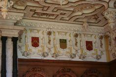 Harlaxton Manor, dining room