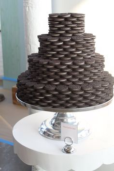 do this with brownies or groom's  fav cookie