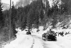 WW, campaign (invasion) of Denmark_Norway from on ('Weseruebung') : Norway - German tanks on a mountain road. April 1940 - pin by Paolo Marzioli Narvik, Panzer, World War Ii, Ww2, Denmark, Norway, Germany, Europe, Military