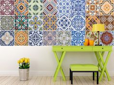 Kitchen Tiles High Wycombe kitchen tile sticker set of 24 decals mixed tiles for bathroom