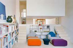 Appartament chez Valentin - Montrouge by ECDM architects -suspended bedroom- fv - photos publi valentin-8