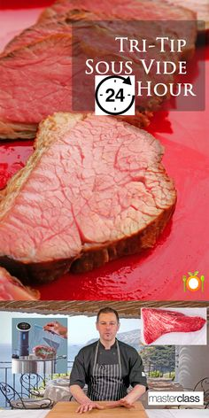 Tri-tip roast or steaks are a top pick in Californians and for good reason.  It has a ton of flavor. It has more flavor than most cuts of beef.  The tri-tip comes from the bottom sirloin portion of the steer/cow The technique of sous vide cooking is a French technique used by many fine-dining restaurants.   🧂 Seasoning is the main challenge most learn after a few costly mistakes. I'll show you the masterclass technique to season your meats/beef perfectly every single time