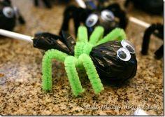 Spider Lollipops (Just needs another set of legs...)