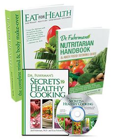 Nutritarian Essentials Bundle - Dr. Fuhrman's Book Shop | Eat For Health | Eat To Live | Cholesterol Protection For Life | DrFuhrman.com