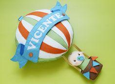 Enfeite para maternidade do Vicente | by Meia Tigela flickr