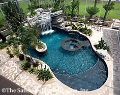When searching for a house to buy, there's one feature that can often stop people dead in their tracks, one […]Fantastic Mediterranean Swimming Pool Designs Out Of Your Dreams 39 Small Inground Pool, Small Backyard Pools, Backyard Pool Landscaping, Backyard Pool Designs, Swimming Pools Backyard, Swimming Pool Designs, Outdoor Pool, Inground Pool Designs, Backyard Beach