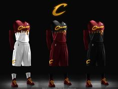 Readers respond to the Cleveland Cavaliers uniform challenge with an array of new designs, writes Paul Lukas. Basketball Kit, Custom Basketball Uniforms, Basketball Design, Louisville Basketball, Nba Uniforms, Sports Uniforms, Sports Jersey Design, Jersey Designs, Jersey Uniform