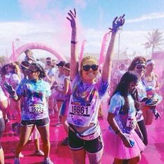 I enjoy running as a way of exercising- the release of endorphins boots my mood and gaining stamina provides a sense of achievement. Running has also provided a platform to be involved in social events such as a 'Fun Colour Run' for East Anglia's Children's Hospice