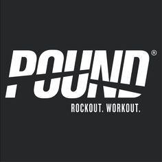 POUND® is a fitness & lifestyle brand based in Los Angeles, CA. The workout combines cardio, Pilates, isometric movements and plyometrics with constant simul. Pound Workout Rockout, Cardio Drumming, Plyometrics, Fitness Logo, Pilates Workout, Health And Wellness, Photo Editing, Typography, Craft Ideas
