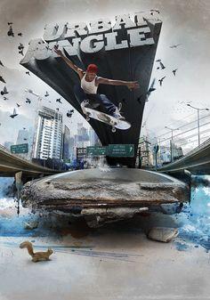 Photoshop inspiration ~ examples of digital art