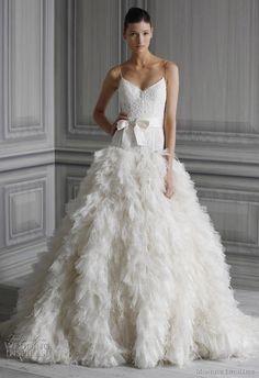 Monique Lhuillier Spring 2012 Wedding Gowns