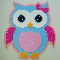 #foami #gomaeva #deco #decoracion #lechuza #buho Easy Sewing Projects, Sewing Projects For Beginners, Sewing Crafts, Owl Crafts, Easter Crafts, Crafts For Kids, Owl Party Decorations, Foam Sheet Crafts, Diy Ostern
