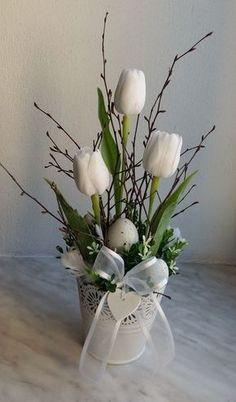 Plecháček+do+bíla....+Bílý+plecháček+zdobený+umělými+tulipány,+dopln... - #dopln #plecha #PlecháčekdobílaBílýplecháčekzdobenýumělýmitulipánydopln #tulipany #zdoben