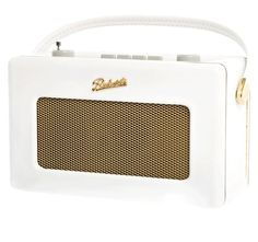 Roberts Radio - White. I am madly in love with this!