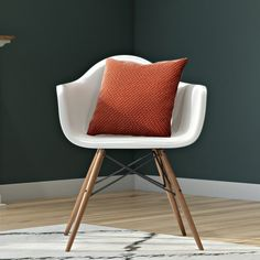 Found it at AllModern - Whiteabbey Molded Arm Chair