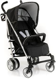 edff04504b8 Hauck Spirit Stroller - Caviar   Silver