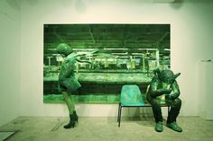 Tablo ve 3 Boyutlu Heykel birlikteliği     http://blog.ajansweb.com/2012/08/tablo-ve-3-boyutlu-heykel-birlikteligi.html