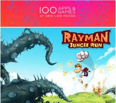 Apple lanza oferta de 100 aplicaciones y juegos a precios ultra rebajados.