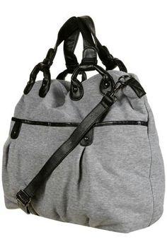Heather jersey purse