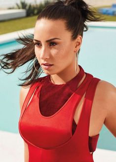 Demi Lovato in InStyle US April 2018 issue