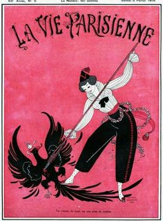 La Vie Parisienne, Glamour Erotica By George Barbier Magazine, France, 1915 Illustrations, Illustration Art, Cc Drawing, France, Advertising Archives, Commercial Art, Ad Art, Historical Images, Hand Painting Art