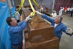 12,000-pound chocolate bar