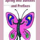 This 14 page collection of printable worksheets provides practice in identifying and using suffixs and prefixes. It is a sequenced complete review ...