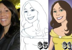 For only $5, eadgery will draw your Disney portrait and send it to you electronically. | **GIG UPDATE (1/11/13): I WILL BE OUT OF TOWN UNTIL THE END OF THE MONTH HENCE WHY THIS GIG IS PAUSED. PLEASE DO NOT SEND | On Fiverr.com