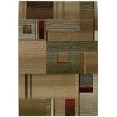 Found it at Wayfair - Generations Medium Green Multi Rug- comes in 6 ft round