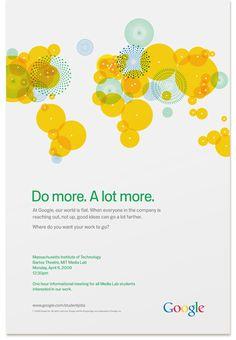 Google University Recruitment by Factor Design | Allan Peters' Blog