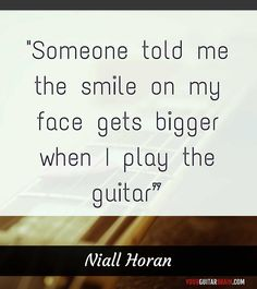 About Playing Guitar