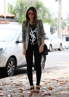 YSL funky fab outfit!