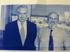 Bibi with the late Zola Levitt, Messianic Rabbi. Psalm 122, Isaiah 41, Prayer Partner, Benjamin Netanyahu, Jerusalem Israel, Most Beautiful People, Rabbi, Christian Faith, Gods Love