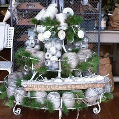 The Drill Hall Emporium (@thedrillhallemporium) • Instagram photos and videos Christmas Porch, Christmas Wreaths, Porch Decorating, Front Porch, Drill, Table Decorations, Photo And Video, Holiday Decor, Videos
