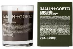 I don't want a Cannabis scented candle and I'm not suggesting you get one. I am just amused that it exists. It would make a truly unique gift for the person who has everything.. Malin + Goetz Cannabis Candle. This stylish candle is fragrant with top notes of lemon and orange, middle notes of fig and pepper, and base notes of oakmoss, sandalwood and amber patchouli-for a sensual, spicy aroma that's evocative of the cannabis plant.  <affiliate link>