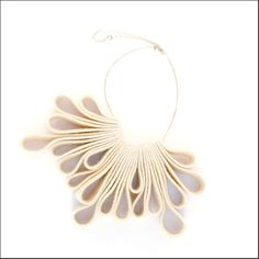 Loop Necklace Ivory -